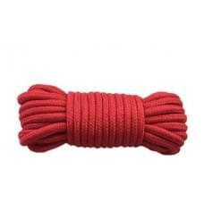Веревка для бондажа BONDAGE ROPE RED