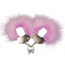 Наручники металлические с отделкой Handcuffs Pink