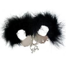 Наручники металлические с отделкой Handcuffs Black