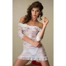 Сорочка Softline Agathe Белая M/L
