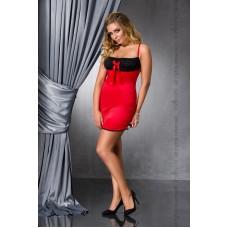 Сексуальная сорочка большого размера LENA CHEMISE red 6XL/7XL - Passion