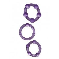 Эрекционные кольца Get Hard фиолетовые