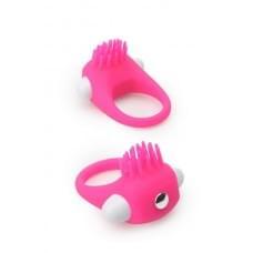 Эрекционное кольцо Dreamtoys Lit-Up Silicone Stimu Ring 5 Розовое