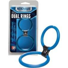 Подвійне кільце Menzstuff Dual Rings - Blue