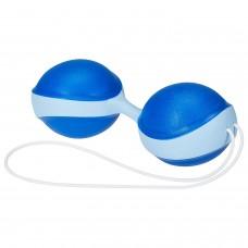 Вагинальные шарики Amor Gym Balls Синий/Голубой